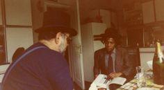 Jean-Michel Basquiat with Emilio Mazzoli (Modena, Italy 1981).