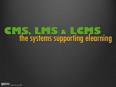 CMS, LMS & LCMS (pinned by @Ricardo Llera)