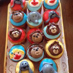 Muffin tema circo