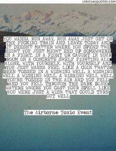 The Airborne Toxic Event Wishing Well
