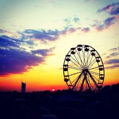 Nothing beats a Bisco sunset... #campbisco #CBXII @CampBisccoFest 2013 #thediscobiscuits