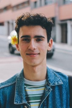 It's spring, so I like taking vintage/retro pictures with flowers in my head, wearing the old clothes of my dad.  #boy #vintage #70s #80s #cute #spring #guy #mensstyle #mensfashion #happyness #inspiration