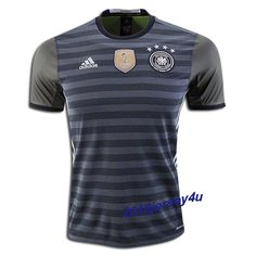 cf93b40c3 2016 UEFA Euro Germany Away Soccer Jersey Mens Polo T Shirts