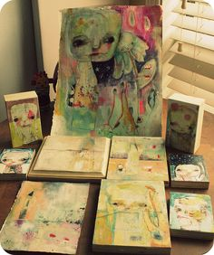newest paintings - by tim's sally