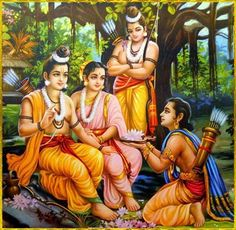 "To save this Earth, ""dharma"" is necessary. This is the work of Rama. And along with ""dharma"" one thing that comes very, very closely with it is Love. Rama proved it. Radha Krishna Pictures, Krishna Art, Lord Krishna, Shree Krishna, Radhe Krishna, Indian Gods, Indian Art, Lord Ram Image, Shri Ram Photo"