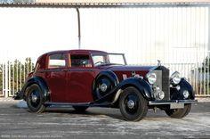 HJ Mulliner Rolls-Royce Phantom III Sedanca De Ville 3AZ236 1936