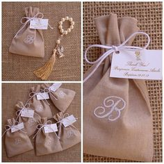 Ideas para Bautizo que te Harán Lucirte ¡Hermosas! Baby Favors, Baptism Favors, First Communion Party, First Holy Communion, Wedding Favor Bags, Wedding Gifts, Baby Shower Parties, Baby Showers, Christening Giveaways
