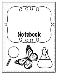 Title Page and Cover Pages for Interactive Notebooks