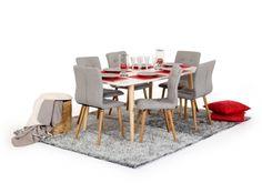 StiilneElise söögilaud mahutab suure pere ühisele lõuna-või õhtusöögile.Lauapindon viimistletud kõrgläikega,jalad on tammepuidust. Kindlasti soovitame kasutada taldrikualused, et hoida lauapind kaua kaunina.    Vaata ka Elise toole ja kummutit. NB! Laua jalad on heledamas toonis kui toolil!