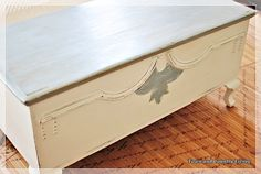 Refinishing the Vintage Blanket Chest - Town & Country Living