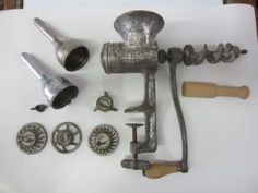 """This week just in time for the upcoming deer hunting season we have a very useful """"Pick of the Week"""". It's a Universal Large Meat Grinder Deer Hunting Season, Meat Grinders, Sausage, Classic, Sausages, Classic Books"""