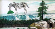 GRAZING | 87 x 47 cm | Acrylic and Oil Painting on Hardboard | ® Krzysztof Polaczenko 2015