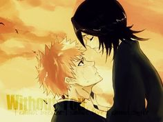 Rukia and Ichigo http://weheartit.com/entry/194615917/via/ChiAMaChAn_IchiRuki