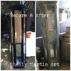Shelly Martin Art (Before & After project)  From really blah to really Ahhhhhhh!