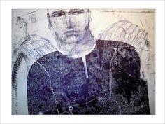 Monoprint by Pawel Krol Prints, Art, Art Background, Kunst, Printmaking, Art Education