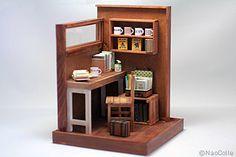 ♡ ♡  Book Cafe.  NAO COLLE.  MIDE 12 x 12 x 15 cms. de altura