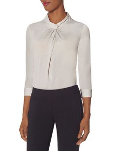 Pleat Collar Blouse | The Limited Scandal Collection