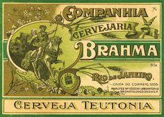 Brahma - beer label