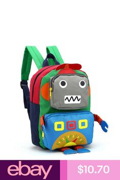 New Toddler Kid Children Boy Girl 3D Cartoon Backpack School Bag  Kindergarten d4d2b0831d40d