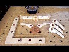 Making new and better CNC clamps (free templates) - workbench / верстак - Routeur Cnc, Diy Cnc Router, Woodworking Clamps, Youtube Woodworking, Router Projects, Woodworking Projects, Cam Clamp, Cnc Table, Project Free