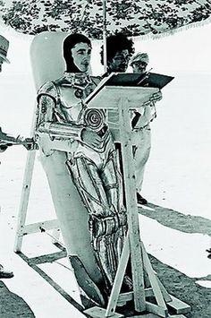 C3PO tomando el fresco