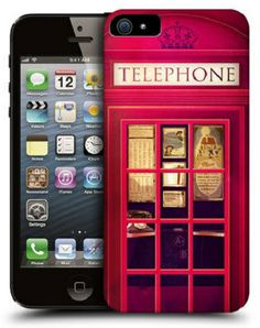 Silicone Case for Apple iPhone 5/5S - Telephone Box by Art telecom