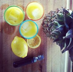 Lets celebrate!  3oz of Pineapple Jalapeño Wolf Moon Mix 1oz of Gin = Perfect Saturday!