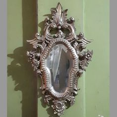 Wooden Frame Mirror Carved French MG 030004