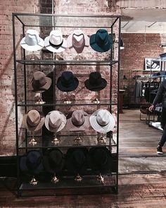 """RAG&BONE,Mercer Street, Soho, New York City, """"Hats off to the weekend!"""", pinned by Ton van der Veer"""