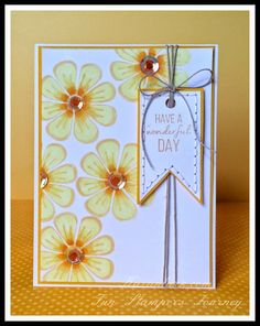 Kazan Clark: Fun Stampers Journey Mother's Day Card