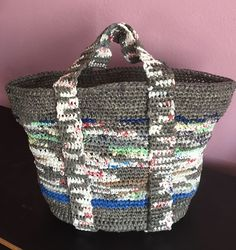 How to Knit a Bag from Plastic Bags: 6 Steps