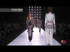 Check out Roberto Cavalli's awesome Spring Summer 2013 Milan runway show Pret a Porter Woman by FashionChannel