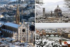 Snow in Florence - it doesn't happen very often, but when it does...