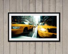 Fotografia di New York Manhattan Taxis stampa di ArchiPhoto, €24.00
