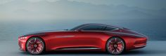 Ultimate in luxury: Vision Mercedes-Maybach - Mercedes-Benz Mercedes Benz Maybach, New Mercedes, Electric Car Concept, Daimler Benz, Concept Cars, Luxury Cars, Dream Cars, Super Cars, Automobile
