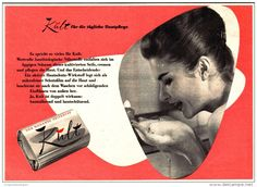 Original-Werbung/ Anzeige 1960 - KULT SEIFE - ca. 200 x 140 mm
