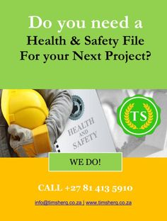 ✅🇿🇦❓Are you compliant❓🇿🇦✅ Contact us to help your business with compliance to Health and Safety Regulations Health And Safety, Business, Store, Business Illustration