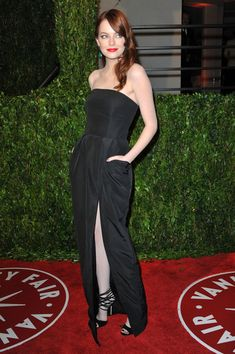 Emma Stone - 2010 Vanity Fair Oscar Party Hosted By Graydon Carter - Arrivals