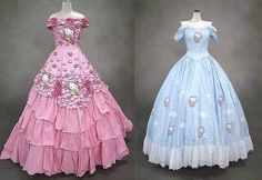 Hello kitty formal wear, for all your fancy occasions.