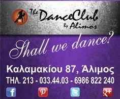 """Λίγες ακόμα ημέρες έμειναν έως το τέλος του μήνα για να επωφεληθείτε από την super προσφορά του """"The Dance Club by Alimos""""!!! -64% στο ετήσιο πρόγραμμα!!! Προλάβετε...ΑΞΙΖΕΙ! #dance #dance_lessons #χορός #latin"""
