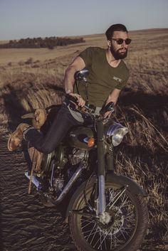Tee + Denim + Motorcycles