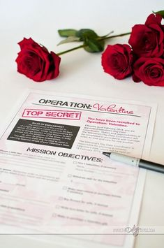 Draft your spouse into Operation Valentine- love it!