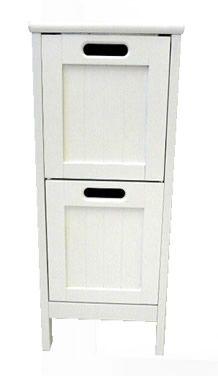 Shaker Style 2 Drawer Storage Unit, Store £49 67cm high x 30cm wide x 30cm deep