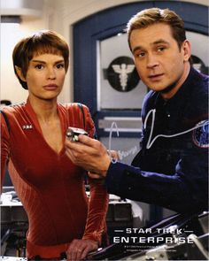 "Star Trek Enterprise - ""The Aenar"" Season 4 Episode 14 Star Trek Tv Series, Film Star Trek, Star Wars, Dame Diana Rigg, Sci Fi Tv Shows, Star Trek Universe, Marvel Universe, Star Trek Characters, Star Trek Starships"