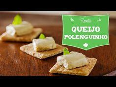Polenguinho Vegano (Queijo Fundido) - YouTube com tofu e castanha