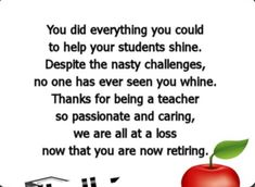 Best 50 Retirement Quotes and Wishes For Teachers - Quotes Yard Retirement Farewell Quotes, Farewell Quotes For Teacher, Retirement Wishes For Teachers, Retirement Quotes Inspirational, Teacher Prayer, Teacher Poems, Old Teacher, Happy Retirement, Best Teacher