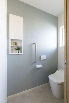 """女性目線の""""あったらいいな""""を叶える住まいMOTENA [直江モデル] Toilet Tiles, Downstairs Toilet, Toilet Room, Toilet Design, Japanese House, Bathroom Furniture, Rustic Furniture, Furniture Ideas, Home And Deco"""