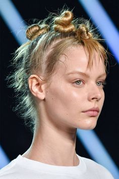 Take a look at all the new ways to wear bangs from the Spring 2015 runways.