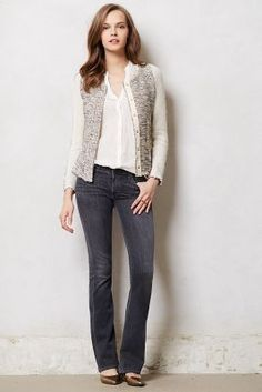 Anthropologie Jean .............. Citizens of Humanity Emmanuelle Slim Bootcut Jeans