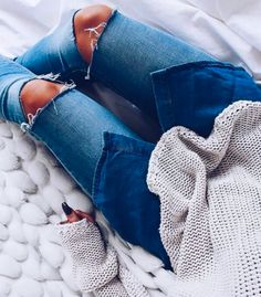 denim on denim #topshop